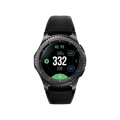 Gear S3 Golf edition 製品正面